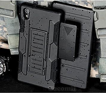 Cocomii Robot Armor Sony Xperia M4 Aqua Funda Nuevo [Robusto] Funda Clip para Cinturón Soporte Antichoque Caja [Militar Defensor] Cuerpo Completo Case ...
