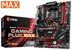 Unlimited customization options and packed with exclusive gaming features, MSI performance Gaming motherboards offer the best possible gaming experience. Customize and set up your own color scheme with MSI Mystic Light utility. Select the ava...