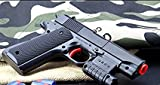 Kid Toy Gun Realistic 1:1 Scale Colt M1911A1 Rubber