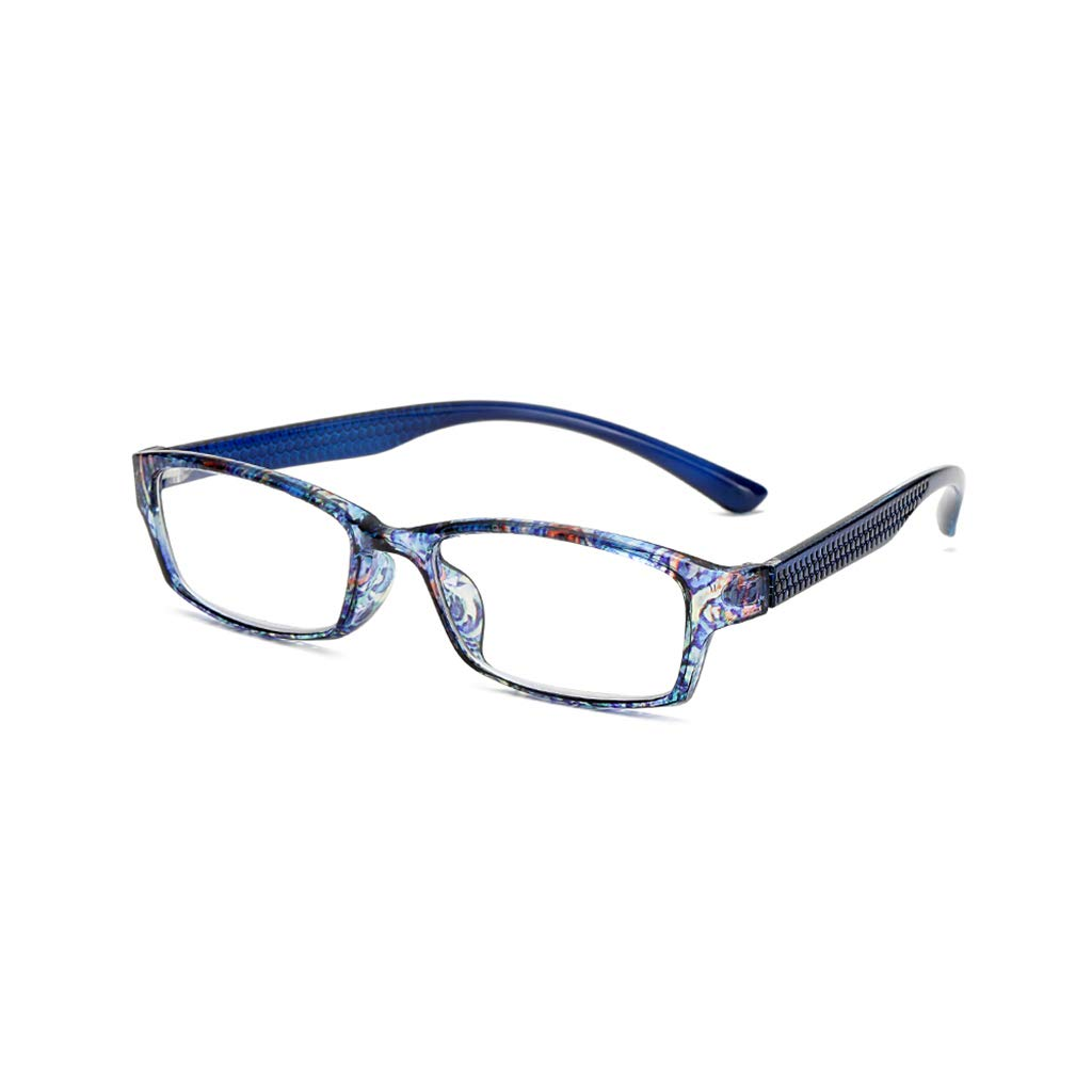 Hothap Fashion Floral Lesebrille Unisex Diopter 1.0 1.5 2.0 2.5 3.0 3.5 4.0