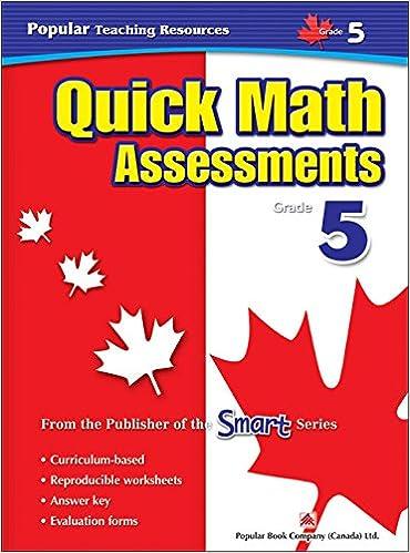 Quick Math Assessment: Grade 5 (Popular Teaching Resources ...