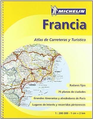 Atlas de carreteras y turístico Francia Atlas de carreteras Michelin: Amazon.es: Varios autores: Libros