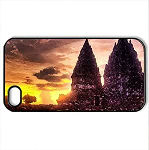Thiland - Case Cover for iPhone 4 and 4s (Religious Series, Watercolor style, Black)