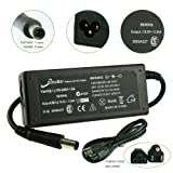 [2 Years Warranty] Elivebuy® 19.5V 3.34A 65W AC Adapter + Power Supply Cord for Laptop Dell Inspiron 1525 1521 1520 1150 1420 ; XPS M1210 M140; Latitude X300 E4300; Vostro 1000 1310 1400 1500 E1405 E1505; M109S Projector Fits V1277 HA65NS0-00 310-3149 CF745 YT886