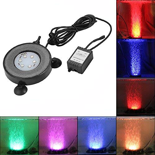 Led Submersible Light Disc Rgb in US - 3