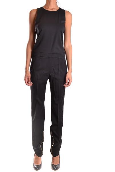 Versace Mujer Bd00711bt20560b1008 Negro Lana Vestido