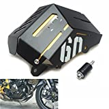 FZ 09 Coolant Shield / Coolant Recovery Tank Shielding Cover coolant tank aluminum for Yamaha FZ09 FZ-09 2014 2015 2016 2017