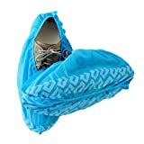 Blue Shoe Guys Premium Disposable Boot & Shoe Covers | Indoor-Outdoor, Durable, Water Resistant, Recyclable | (Large Size Fits Most - Extra Large Available)