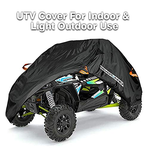 NEVERLAND UTV Cover,190T Waterproof Material for Polaris Ranger Yamaha WOLVERINE Honda Kawasaki Teryx Textron Off Road Wildcat 2-3 ()