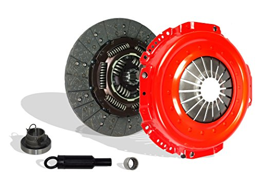 Clutch Kit Works With Dodge Ram 2500 3500 Laramie SLT ST Base Cab Pickup 1998-2003 5.9L l6 DIESEL OHV Turbocharged 8.0L V10 GAS OHV Naturally Aspirated (CUMMINS TURBO DIESEL; 5-SPEED; Stage 2)
