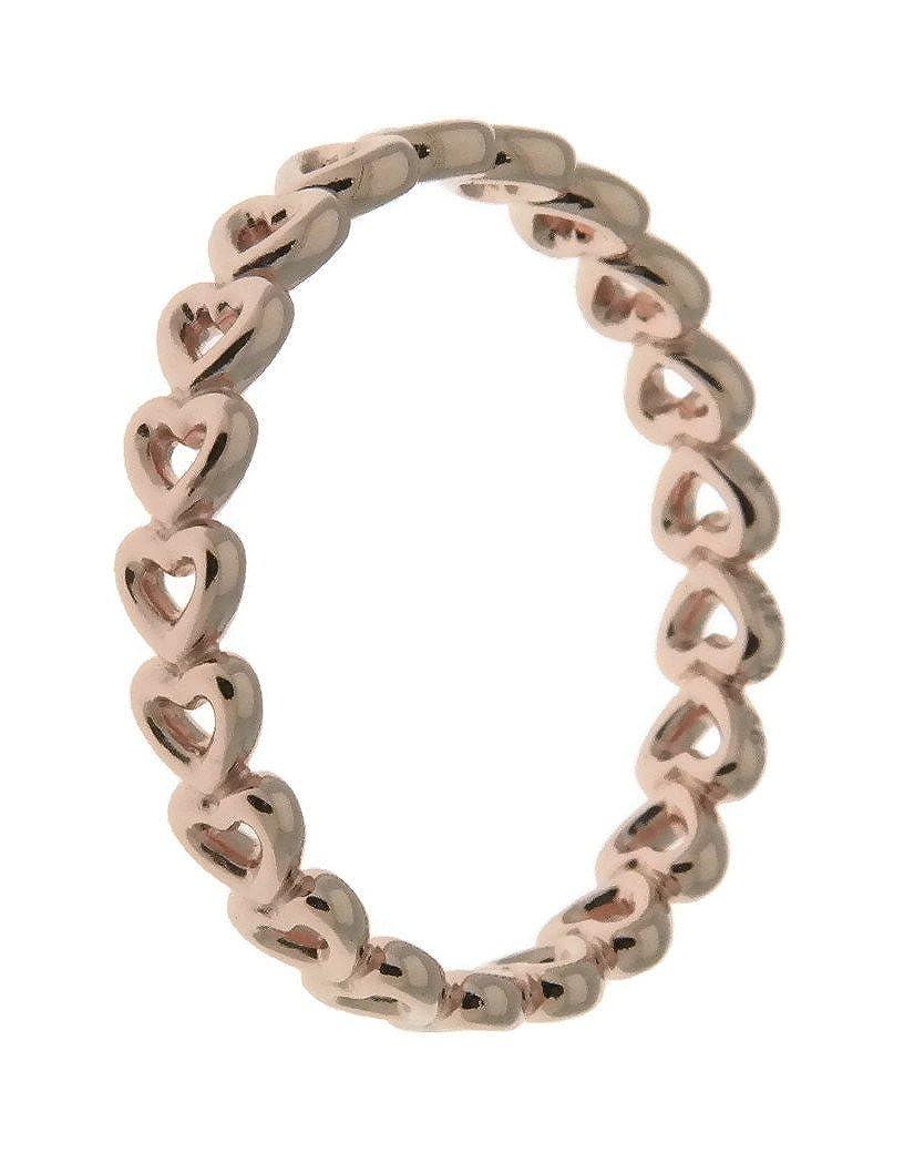 48891e0fc Amazon.com: Pandora Rose Linked Love Ring Size 5 18017750: Watches
