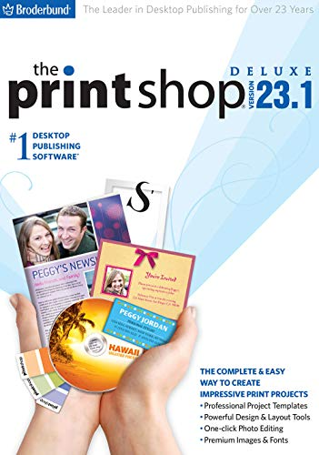 : The Print Shop 23.1 Deluxe [PC Download]