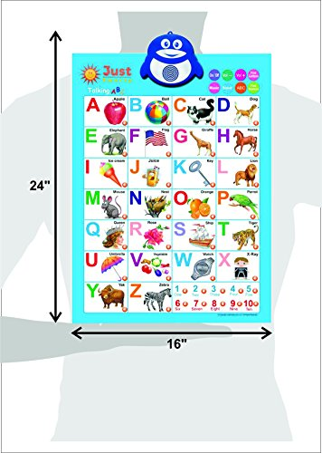 Electronic Interactive Alphabet Wall Chart Talking Abc