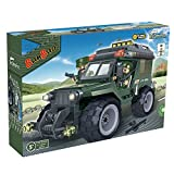 BanBao Military Jeep Toy Building Set, 143-Piece