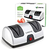 Electric Kitchen Knives LINKYO Electric Knife Sharpener, Kitchen Knives Sharpening System