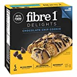 Fibre 1 Delights Bar Chocolate Chip Cookie, 5-Count, 125 Gram