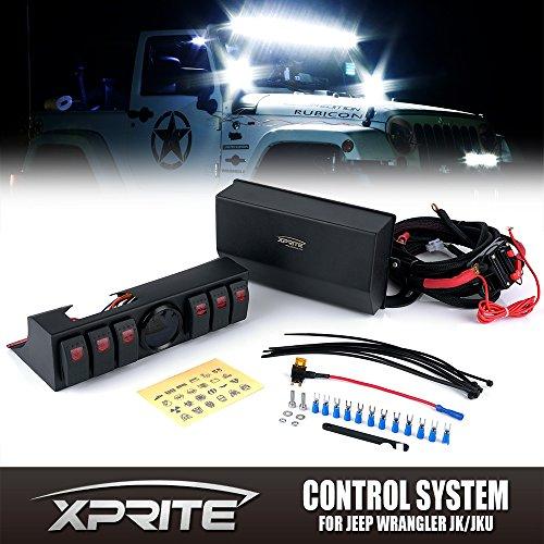 Внутреннее освещение Xprite 6 Rocker Switches