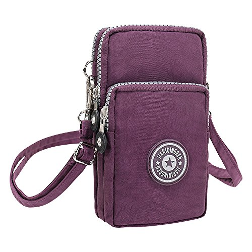 Wiwsi Mini Wallet Pouch Handbag Case for Cellphones Crossbody Wrist Shoulder Bag
