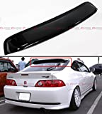 For 2002-2006 Acura RSX DC5 Type-S JDM Style Dark Smoke Rear Window Roof Visor