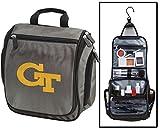 Georgia Tech Toiletry Bags or Mens Shaving Kits HANGABLE Travel Bag
