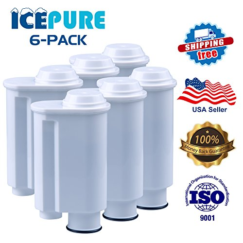 6 Pack Icepure CMF005 Compatible with Brita Intenza+ Philips