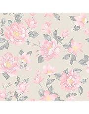 Papel de Parede, Floral, 1000x52 cm, Bobinex Uau