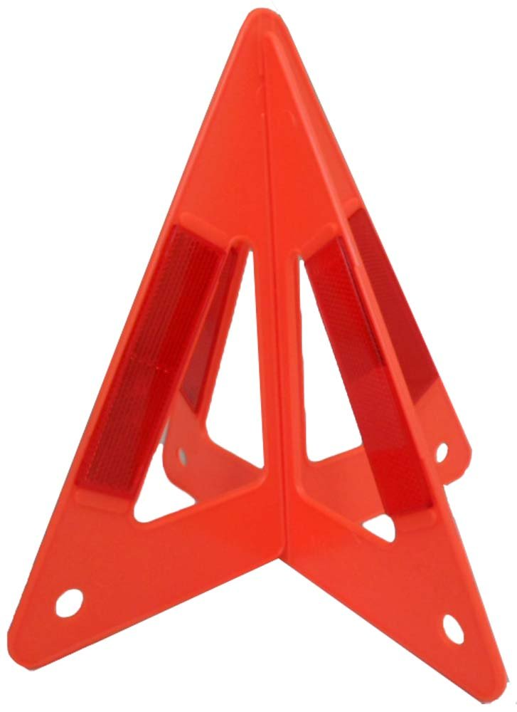 BRITEGUARD 9 ST-3D 3D Plastic Safety Triangle For Side Of The Road Safety