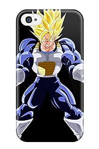 Eric Loeb Perfect Tpu Case For Iphone 4/4s/ Anti-scratch Protector Case (super Saiyan Goku )