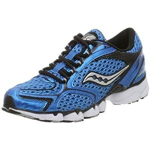 Saucony Men's Grid Sinister Running Shoe,Royal/Black,11 M