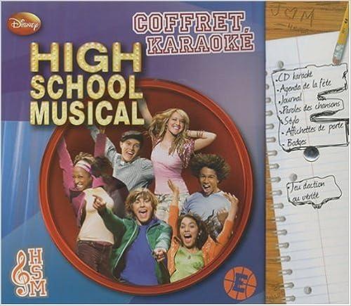 Livres gratuits en ligne High School Musical Coffret karaoké pdf, epub