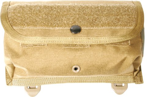 BLACKHAWK! 39CL45CT-USA Utility Pouch Small with Strike Webbing, Coyote Tan