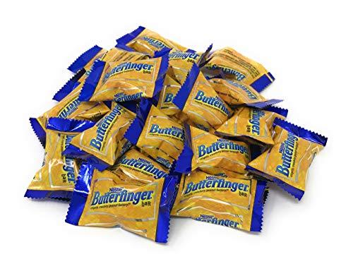 Butterfinger Chocolate Candy, Nestle Butterfingers Mini Bulk 2 pounds (32 ounces)