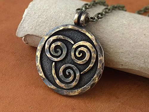 Avatar Last Airbender Earth Water Fire Air Element Kingdom Set Necklace Pendant Jewelry Elements by BaldurJewelry