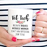 Vet Tech Week Gift, Funny Veterinary Technician Coffee Mug,Thanksgiving Day Gifts,Christmas Gift-11 Oz