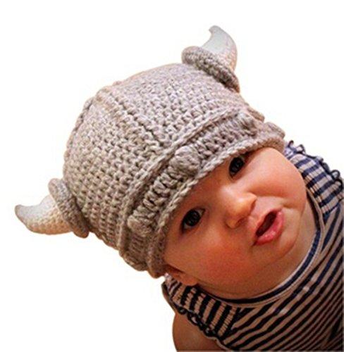 163f384e6a7 Infant Toddler Viking Crochet Handmade