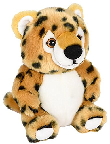 ffed Cheetah Plush Belly Buddies Animal Heirloom Collection ()