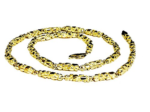 10Kt Solid Yellow Gold Heavy H