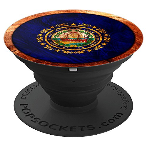 USA New Hampshire NH Flag - PopSockets Grip and Stand for Phones and Tablets