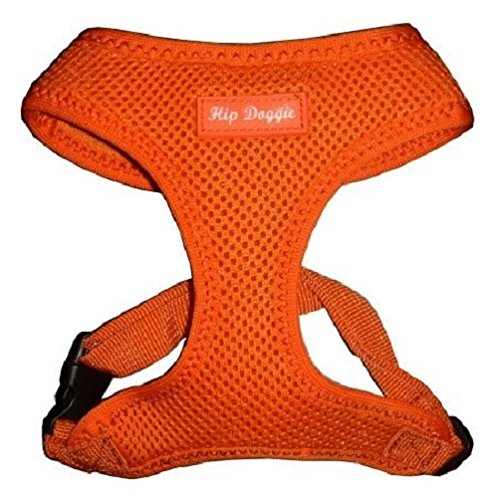 51jPpCaRnoL amazon com hip doggie ultra comfort orange mesh harness vest, x