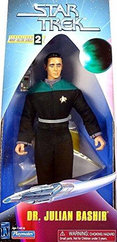 (9 Dr. Julian Bashir Action Figure - Warp Factor Series 2 - Star Trek: Deep Space Nine)