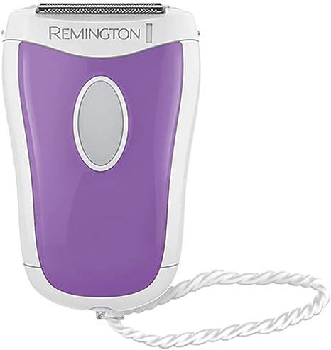 Remington WSF4810 Smooth&Silky - Depiladora con cabeza angular y recortadores dobles, ideal para viajar, uso en seco o en mojado: Amazon.es: Salud y cuidado personal