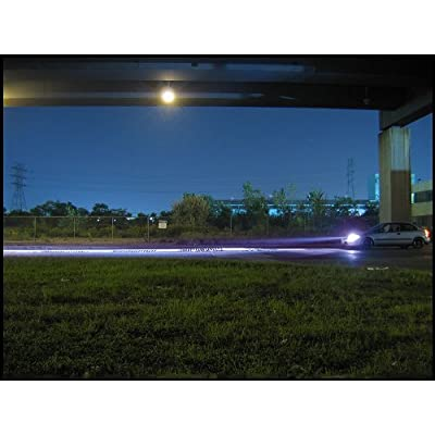Xentec 9006 (HB4) 12000K HID xenon bulb x 1 pair bundle with 35W Digital Slim Ballast x 2 (Blue Violet): Automotive