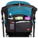Universal Stroller Organizer Bag for baby strollers / Stroller By Kidsy(TM) Incredibly Convenient, Practical Top Line Quality Storage Bag For Enjoyable, Hassle Free Walks With Your Baby!