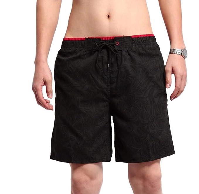 aefa8277e9 SHEKINI Mens Swimming Trunks Beach Pocket Quick Dry Swim Shorts Print Board  Shorts Beach Pants with Pockets Beach Shorts Adjustable Drawstring Swimwear  ...