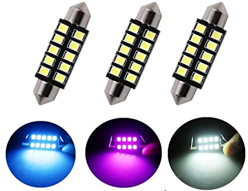 Best to Buy 10-pack CANBUS Error Free 42mm (1.7