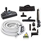 Prolux 30ft Universal Central Vacuum Hose Kit w Powerhead