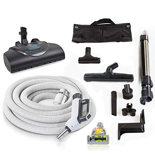 Prolux 35 ft Universal Central Vacuum Hose Kit Powerhead