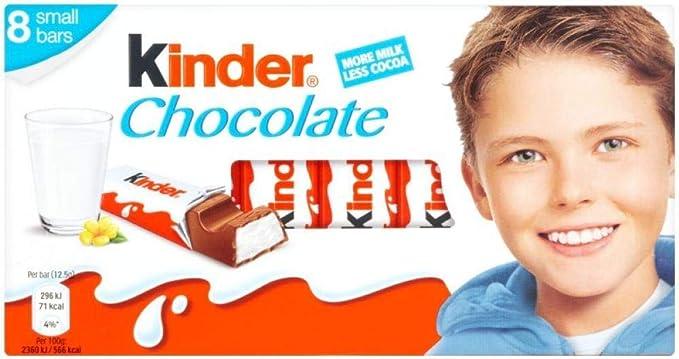 Original Kinder Chocolate Pack Imported From The UK England Ferrero Kinder Schokolade Kinder Chocolate Sticks Kinder Chocolate Bars
