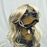 Dog Costumes Synthetic Pet Wig Dogs Cats Wig (05) (Blonde)