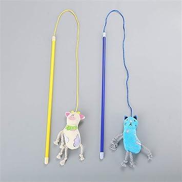 TTaceb cat toy kitten toys cat fishing rod toys cat toys